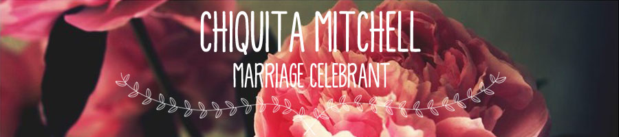 chiquita mitchell - civil marriage celebrant
