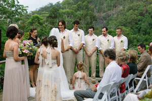 Natasha and Nic's ceremony - conducted by Chiquita Mitchell