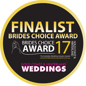 Finalist - Brides Choice Award 2017
